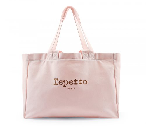 Repetto Rosa kanvas net med logo