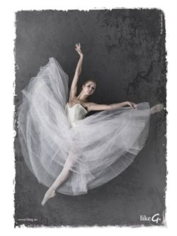 Plakat balletdanser Like G