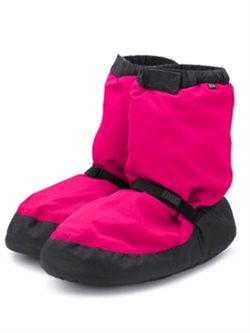 Bloch warm up bootie pink m. sort