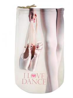 I love dance balletsko pose beige