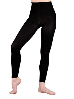 Sorte Pridance footless tight teen/voksne