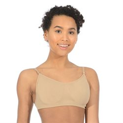 Seamless hudfarvet bh top til ballet Roch Valley