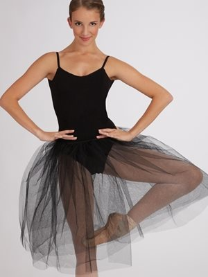 Tutu skirt sort til damer Capezio